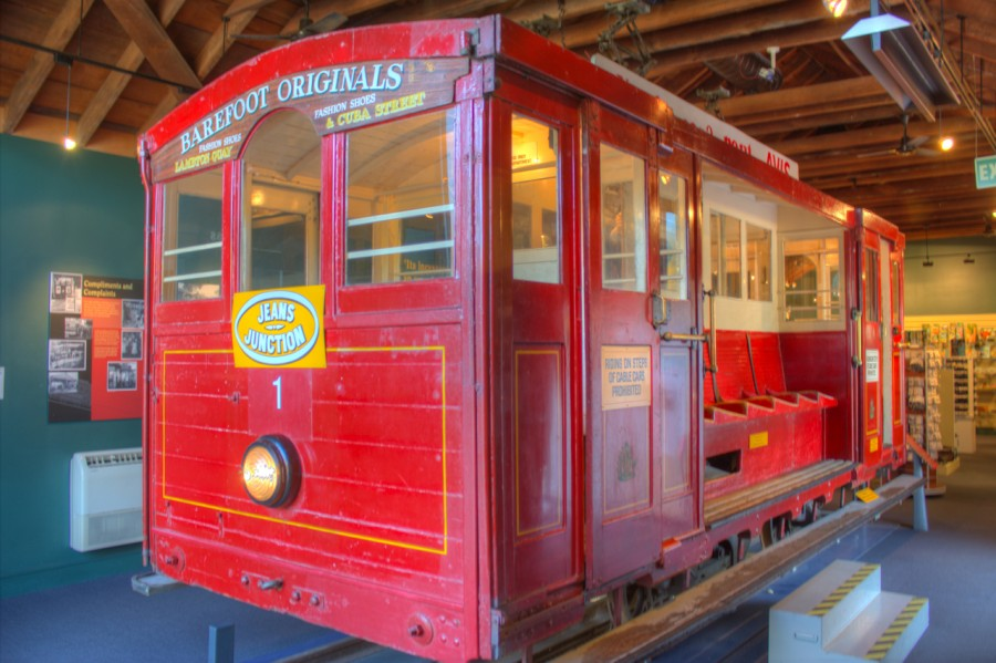 Wellington's Cable Car Museum