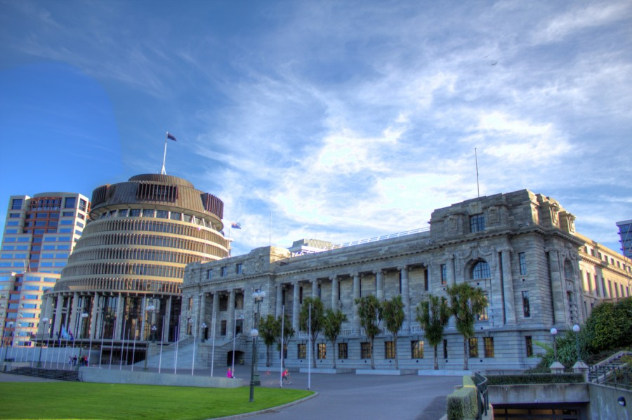 The Beehive and Parliament House