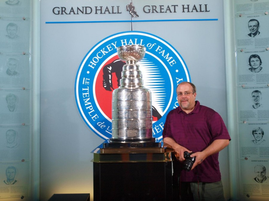 A Visit to the Hockey Hall of Fame