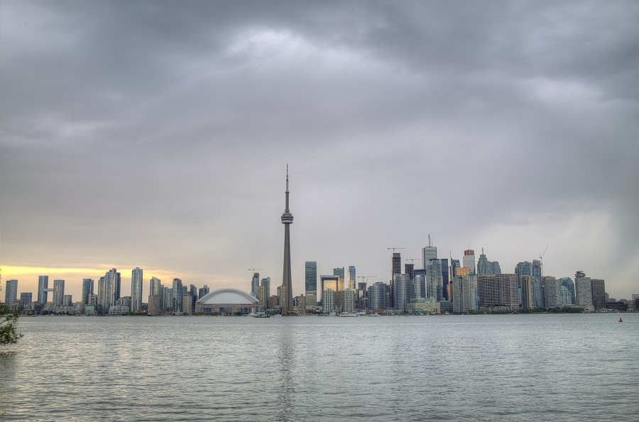 The Toronto Skyline from Center Island